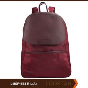 Nylon Pu Man Backpack Wholesaler Low Moq Custormised