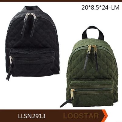 mini woman backpack top selling cheap woman bag