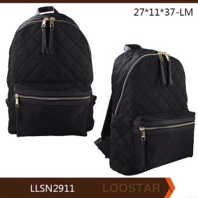 backpack woman nylon bag factory wholesaler popular style