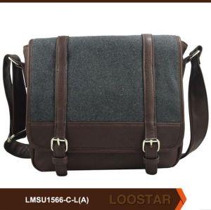 canvas man crossbody bag