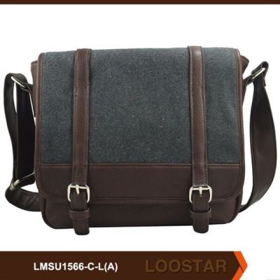canvas man crossbody bag
