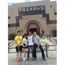 English friend visited China and our factory