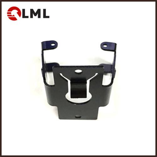 Custom Black Electrophoresis 65 Mn Spring Steel Sheet Metal Stamping Parts