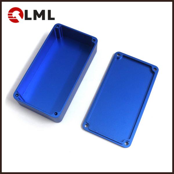 Custom CNC Machining Aluminum 1590G Box Mod Enclosure For Electronic Cigarette