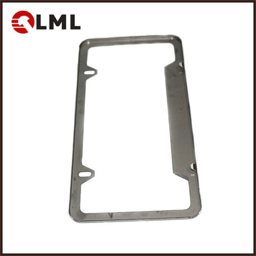 Custom Made Sheet Metal Stamping Car Licence Plate Frame of different kinds