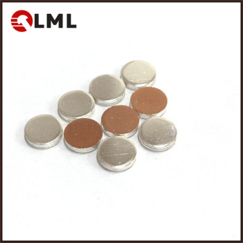 OEM Copper Matrix Electrical Silver Surface Contact Sheets Of Magnetic Contactor