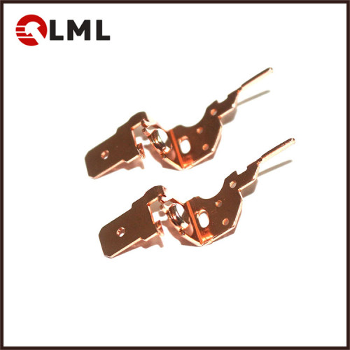 Custom Made Copper Matrix Relay Switch Electrical Bimetal Silver Contact Assembly
