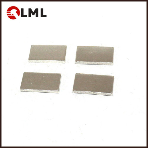 AgCdO(12) Electrical Silver Alloy Surface Contact Sheet For Protection Switches