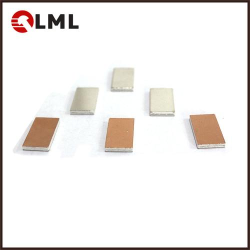 AgCdO(12) Series Silver Alloy Electrical Surface Contact Sheet For Relay
