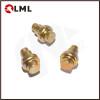 Custom Made Nail Head Brass Shoulder Rivets In Stock