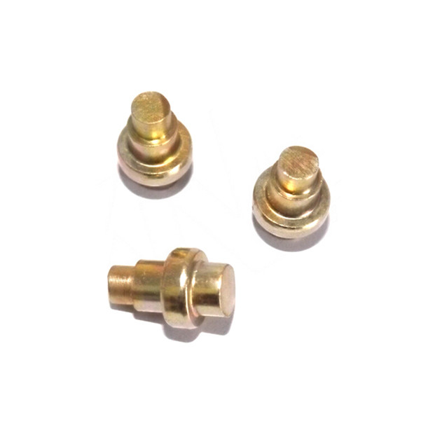 brass stepped rivets