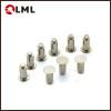 OEM Nickel Plated Solid Steel Flat Head Shoulder Rivets In Stock
