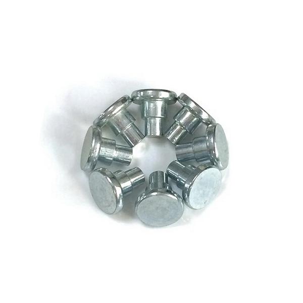 aluminum stepped rivets