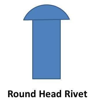 round head rivet