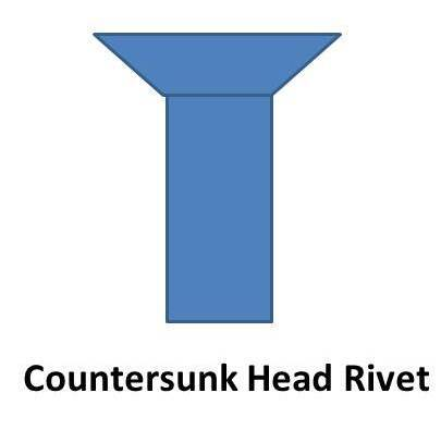 countersunk head rivet