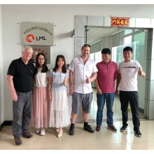 Two groups of customers visited LML