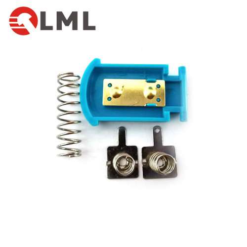 Metal Battery Clip AA Battery Spring Grounding Spring Contact For Forehead Thermometers Battery Holder