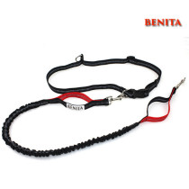 Pet Collars &Leashes Type Durable Nylon Bungee Hands Free Dog Leash