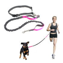 Hot Selling Retractable Hands Free Bungee Dog Leash For Dog Running Leash