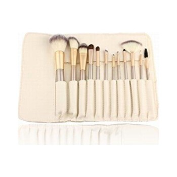 Free sample fan goat hair makeup brush in china factory professional makeup brush