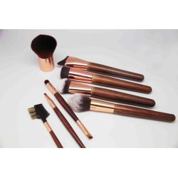 12 pcs cosmetics brush with leisure case christmas gift