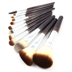 Top quality 10pcs personalized vegan makeup brushes manufacturer