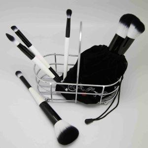 Stock Wholesale 10pcs Natural Hair Professional Makeup Brush Set