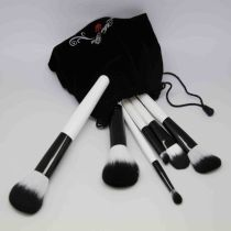 Stock Wholesale 10pcs Natural Hair Professional Makeup Brush Set