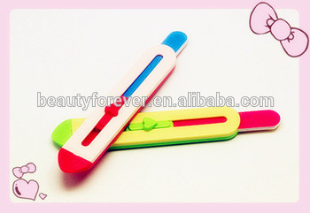 Hot -selling nail file, colorful nail file for nail care