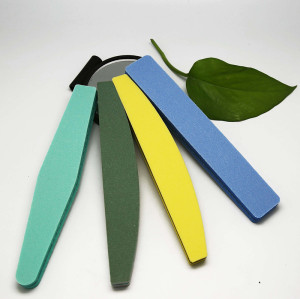 Custom printed eva sponge nail file,disposable nail file