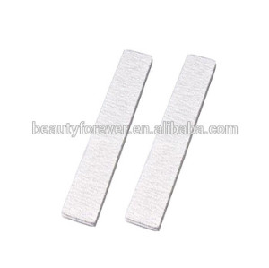 Professional salon use zebra nail file square end shape