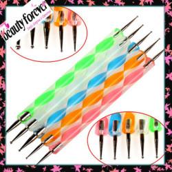 Hot sale acrylic handle nail dotting tools
