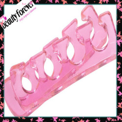 Hot sale fingers separator for nail polish use,silicone toe separator