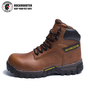 JASPER---ROCKROOSTER AT Series Men's work boots waterproof hiker with carbon composite toecap