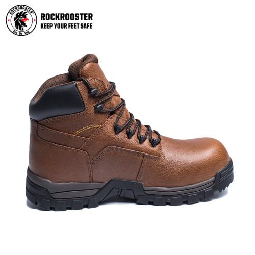 JASPER---ROCKROOSTER AT Series Men's work boots waterproof hiker with carbon composite toecap