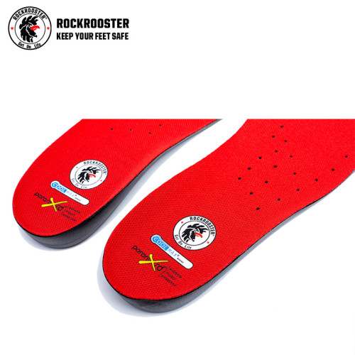 ROCKROOSTER anti-futigue PU footbed red