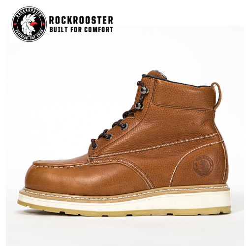 EDGEWOOD---ROCKROOSTER AP SERIES MEN'S HIKING SAFETY BOOTS WITH CARBON COMPOSITE TOECAP