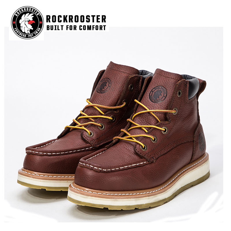 200fe54e7bde WALKER---ROCKROOSTER AP SERIES MEN S WORK BOOTS with thick bottom ...