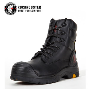 HORTON---ROCKROOSTER AK Series Men's work boots Lace up ankle boots withcomposite toe cap PU/Rubber outsole