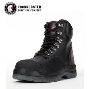 KENSINGTON---ROCKROOSTER AK Series Men's work boots Zip sided water proof boots with steel toe cap