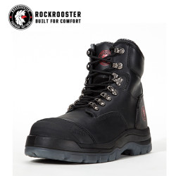 KENSINGTON---ROCKROOSTER AK Series Men's work boots Zip sided water proof boots with steel toe cap