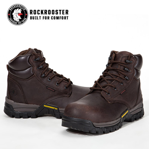 DELLEKER---ROCKROOSTER AT SERIES MEN'S HIKING SAFETY BOOTS WITH CARBON COMPOSITE TOECAP