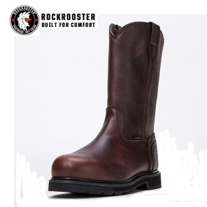 TEHAMA---ROCKROOSTER AP SERIES MEN'S PULL ON BOOTS WITH STEEL TOECAP