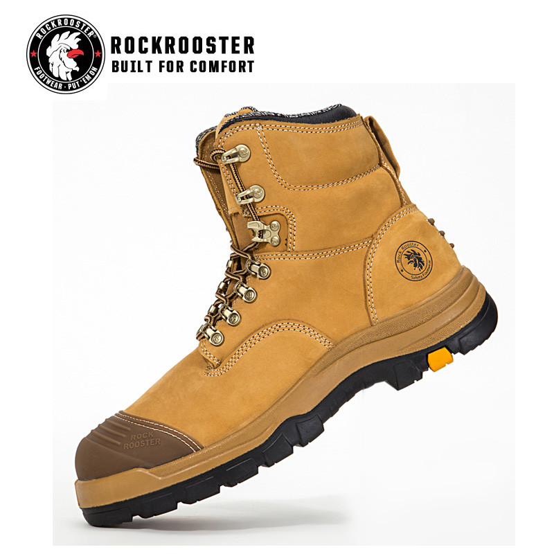 531700b24bb FORT---ROCKROOSTER AK Series Men's work boots Lace up ankle boots ...