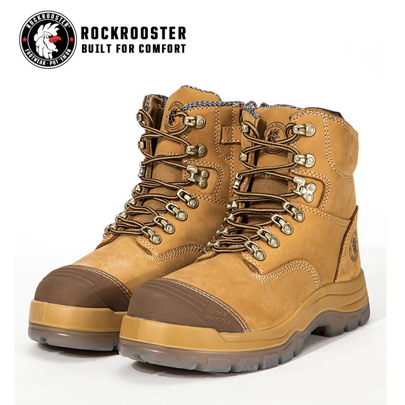 e8f2cf8e134 KIMBERLY---ROCKROOSTER AK Series Men's work boots Zip sided boots ...