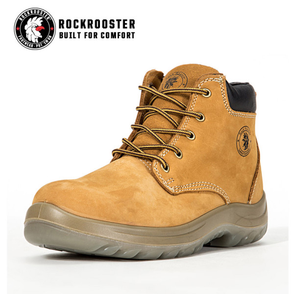 CORDERO---ROCKROOSTER AC Series Men's work boots Lace up Ankle boots with steel toe cap
