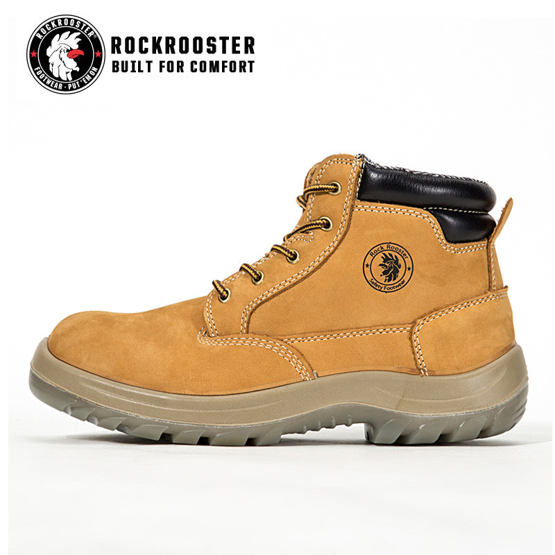 8e2b519f2bd CABALLO---ROCKROOSTER AC Series Men's work boots Zip sided Ankle ...