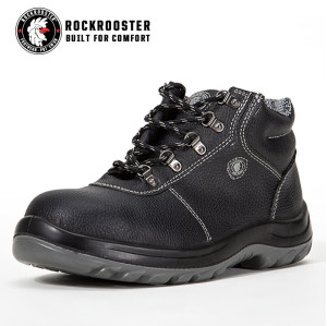 KEMMERER---ROCKROOSTER AC Series Men's work boots Lace up ankle boots with steel toe cap