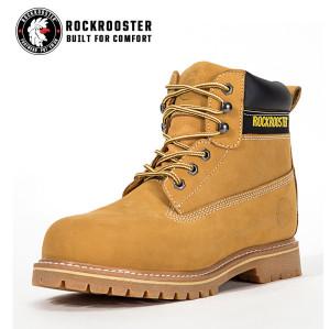 PLUTON---ROCKROOSTER AP Series Men's work boots with steel toe cap