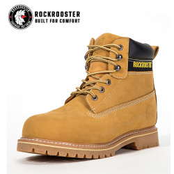PLUTON---ROCKROOSTER AP Series Men's work boots with steel toe cap